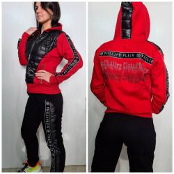 Спортивные костюмы женские на флисе  оптом 50174286 3555 -5