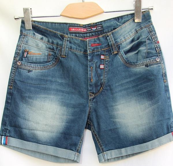 Шорты джинсовые мужские оптом 89204657 25018