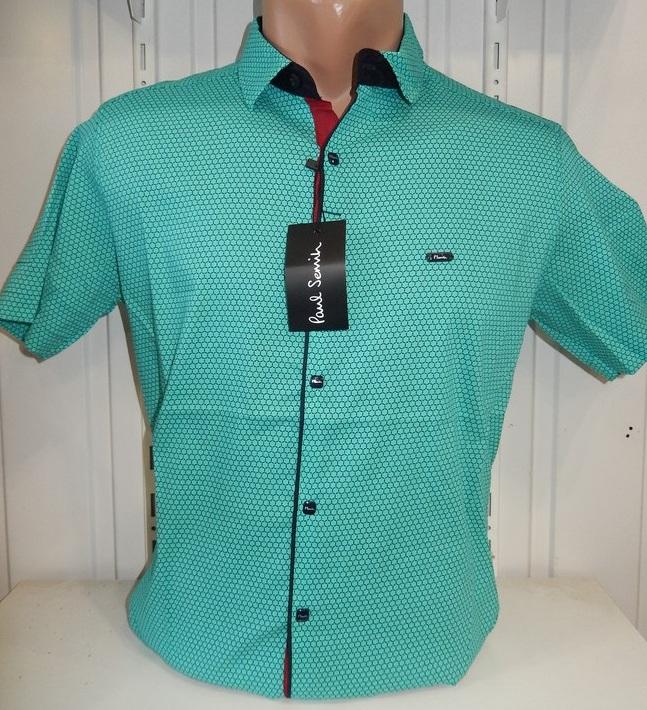 Рубашки мужские  оптом 22061830 1737-2