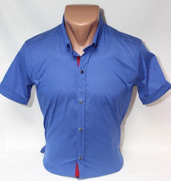 Рубашки мужские Турция оптом  09074721 01-7