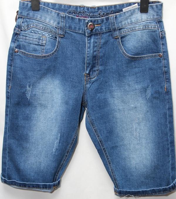 Шорты джинсовые юниор оптом 29051670 7603