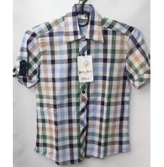 Рубашка для школы оптом (короткий рукав) Китай 28061776 153