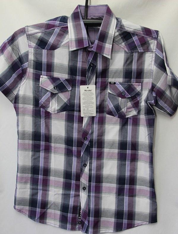 Рубашки мужские Турция оптом 2004523 3636-68