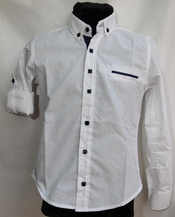Рубашки подростковые  оптом 95471032 4629-141