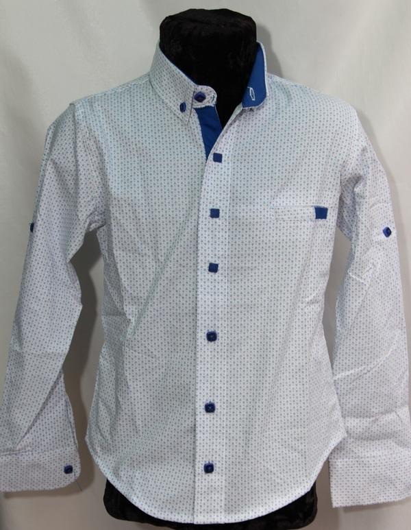 Рубашки подростковые  оптом 86734209 6445-152