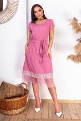 Платья женские БАТАЛ оптом 93478601 1-9