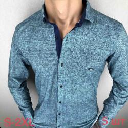 Рубашки мужские PAUL SEMIH оптом 87605123 02-6