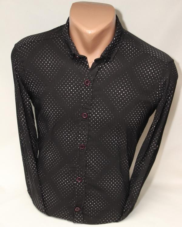 Рубашки мужские  оптом 86305492 9331-19