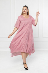 Платья женские БАТАЛ оптом 97243561 386-2