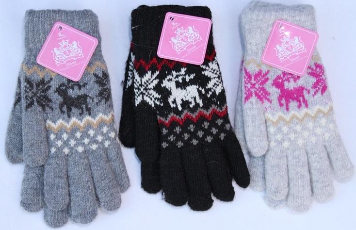 Перчатки подросток Gloves оптом 54813967 Т26-1