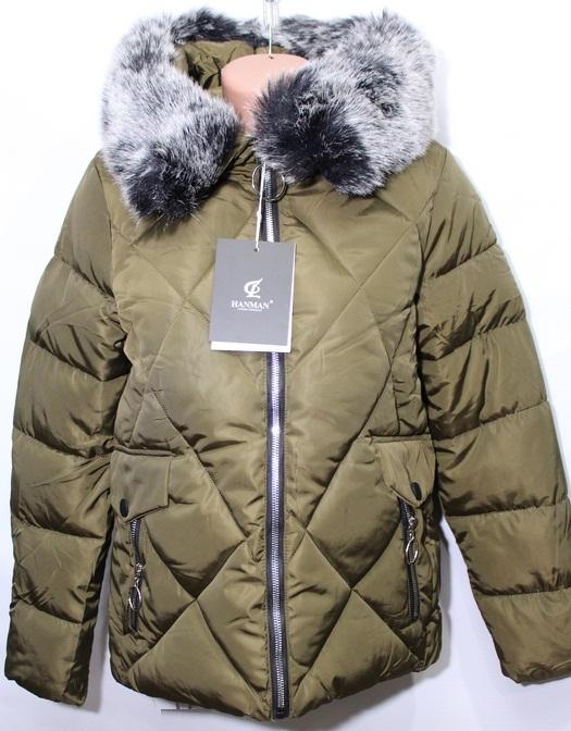 Куртки женские HANMAN оптом 67928341 8808-6