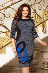 Платья женские БАТАЛ оптом 53190428  03-1