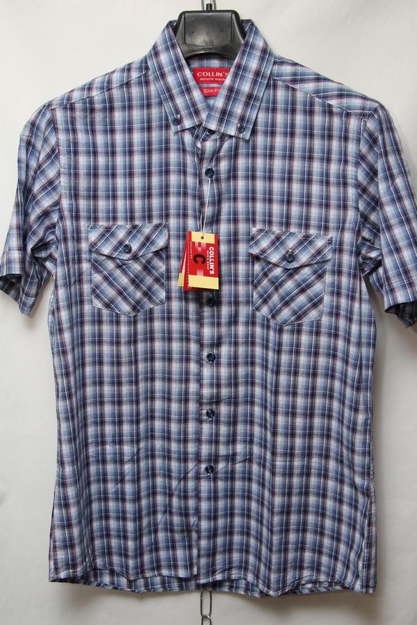 Рубашки мужские оптом 10051360 9201-115