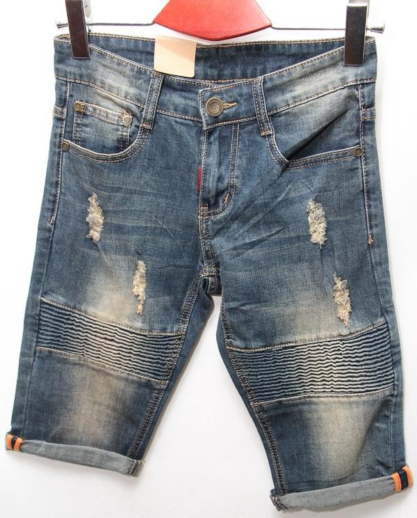 Шорты джинсовые мужские CELUKKIG LEVEN оптом 08061340 893
