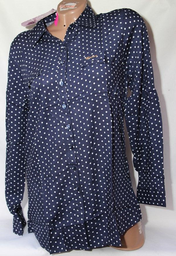 Рубашка женская Батал оптом 1902807 8487
