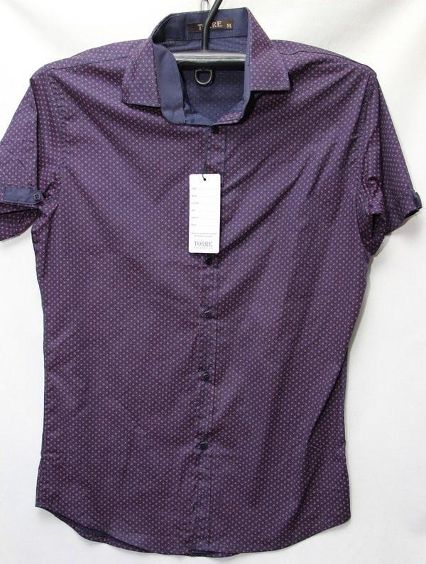 Рубашки мужские Турция оптом 03196278 3636-75