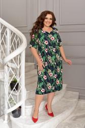 Платья женские БАТАЛ оптом 21530467 21-1