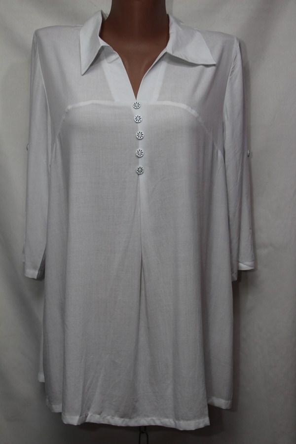 Блуза женская БАТАЛ оптом 18021410 243