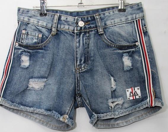 Джинсовые  женкские шорты   оптом 70581936 1