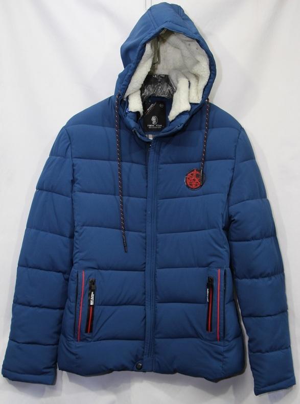 Куртки HANS KLOK мужские зимние оптом 2509939 F6702-1