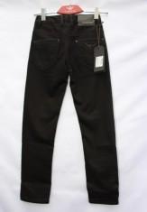 Детские джинсы зимние чёрные Fangsida F-U 5002 #A6