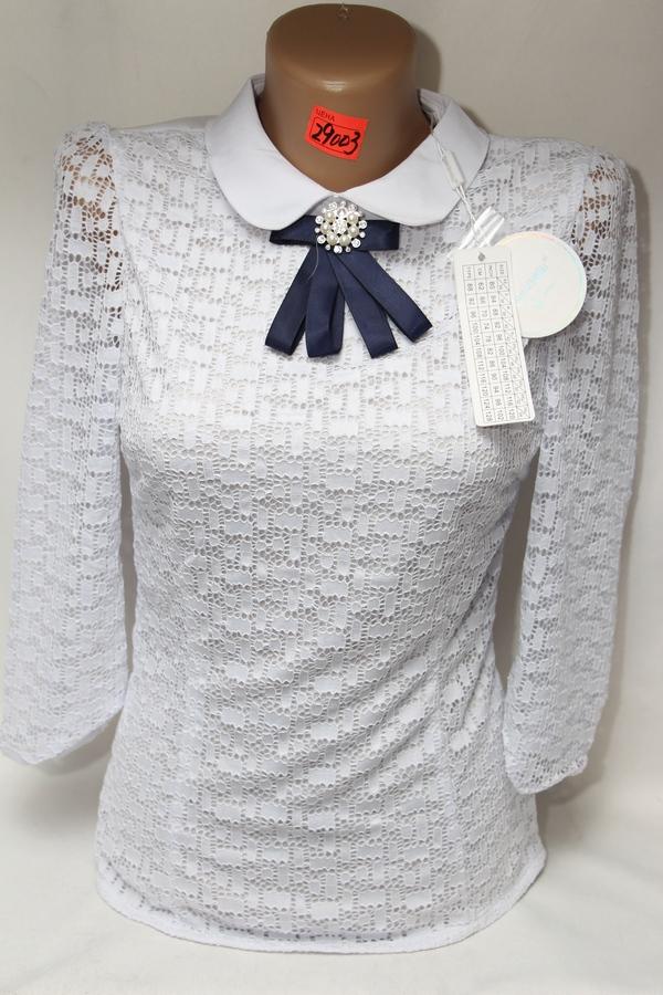 Блузы школьные оптом 03071188 29003