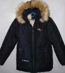 Куртки зимние подростковые на меху оптом 53809764 40 -4
