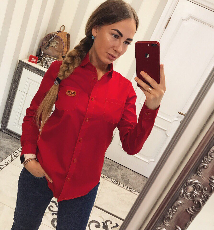 Рубашки женские  GUCCI оптом 17083183 04-27