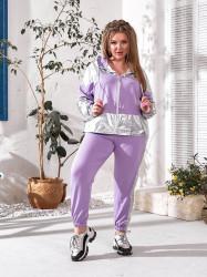 Спортивные костюмы женские БАТАЛ оптом 20976385 455-3
