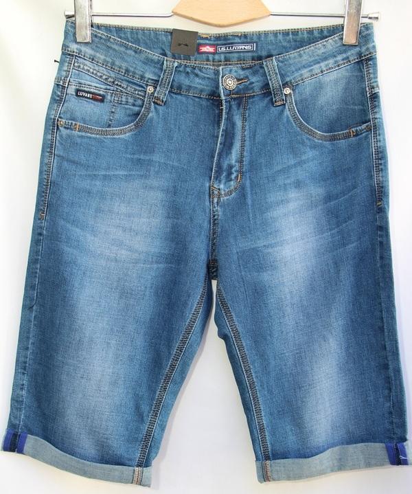 Шорты джинсовые мужские оптом 10061683 2830