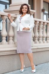 Платья женские БАТАЛ оптом 49315702 24-37