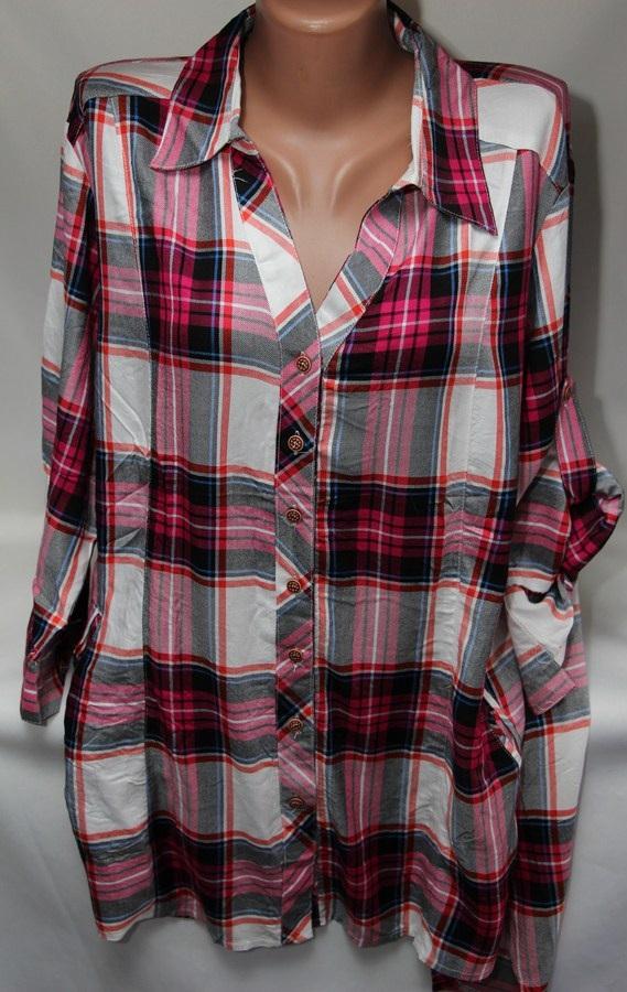 Рубашки женские оптом 2103651 6124-1
