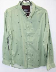 Рубашки мужские APEKS TRIKO оптом 96450382 11-202