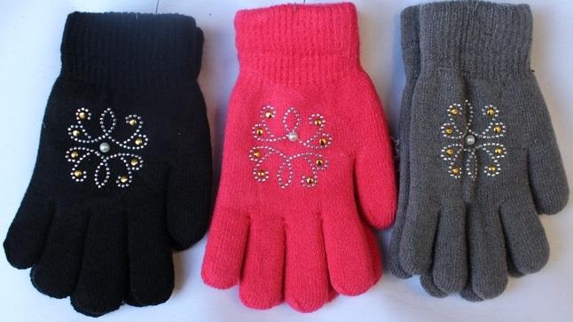 Перчатки подростковые оптом 95621374 С7131-1