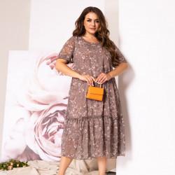 Платья женские БАТАЛ оптом 82561304 02-29