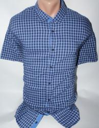 Рубашки мужские KARAVELLA БАТАЛ оптом 13049675  007-24