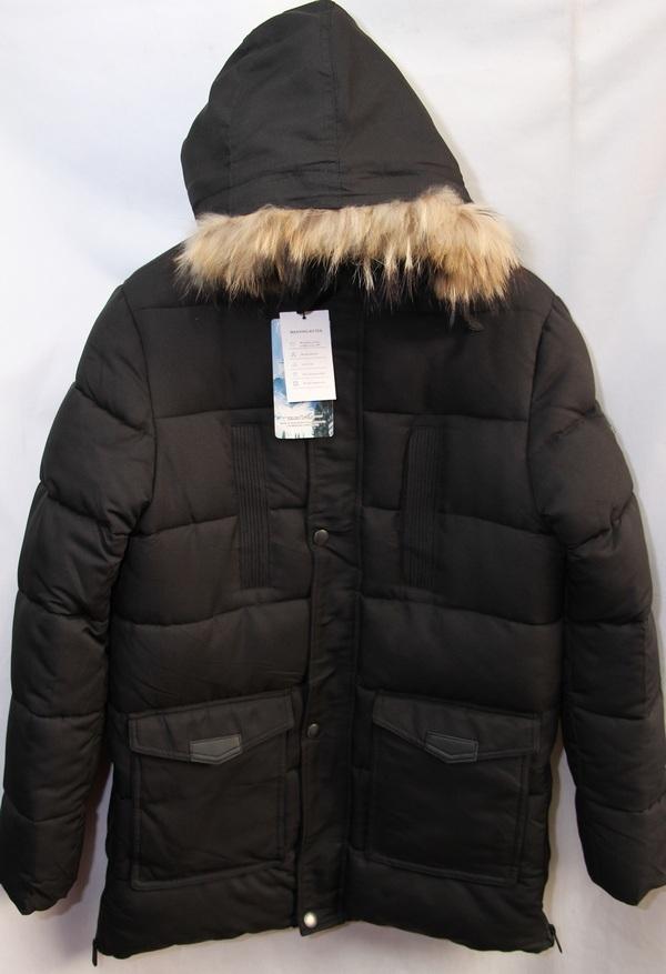 Куртки подростковые зимние оптом 20091076 А-1-1