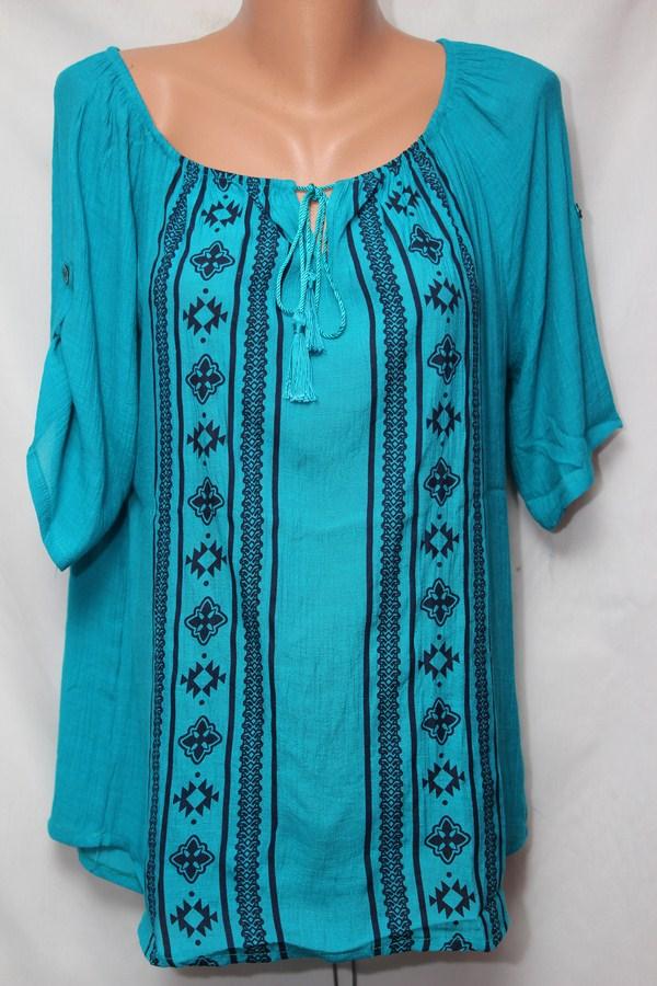 Блуза женская БАТАЛ оптом 18021410 238