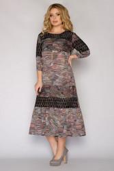 Платья женские БАТАЛ оптом 61087439   115476-5