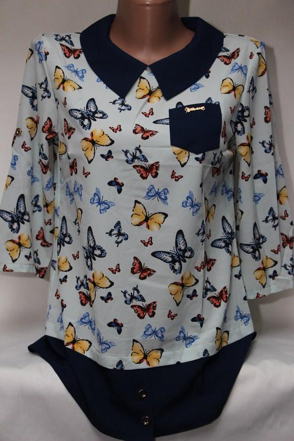 Блузы женские оптом 22043001 599-12