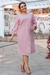 Платья женские БАТАЛ оптом 89420165 09 -1