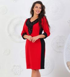 Платья женские БАТАЛ оптом 89150476 17086-1