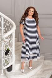 Платья женские БАТАЛ оптом 26043571  06-19