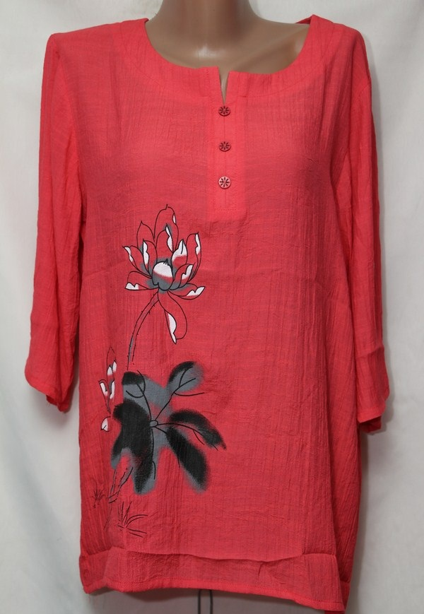 Блуза женская БАТАЛ оптом 18021410 230