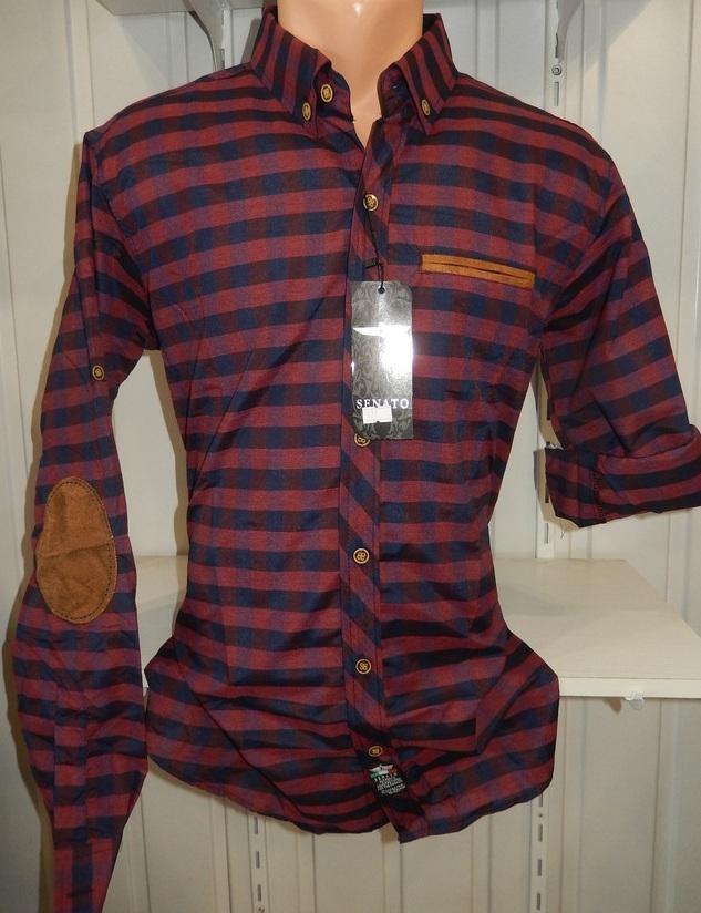 Рубашки мужские полу батал оптом 13081830 5210-14