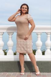 Платья женские БАТАЛ оптом 61842905 24-9