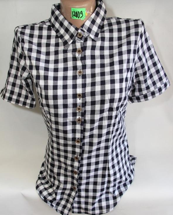 Рубашки женские QIANZHIDU Турция оптом 79126053 12009-55
