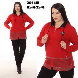 Спортивные костюмы БАТАЛ женские оптом 07413269 4453-10