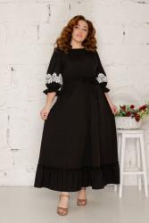 Платья женские БАТАЛ оптом 54637812 100-26