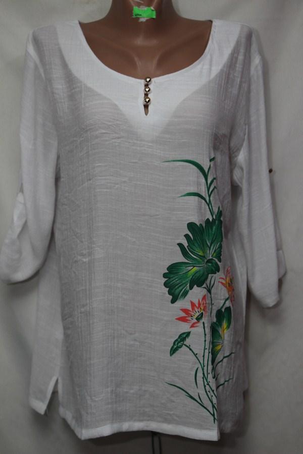 Блуза женская БАТАЛ оптом 18021410 239